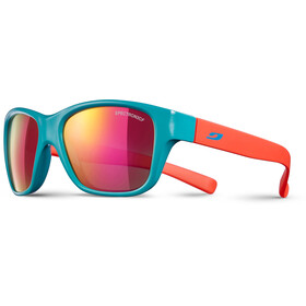 Julbo Turn Spectron 3CF Sunglasses 4-8Y Kids shiny turquoise/matt coral-multilayer pink